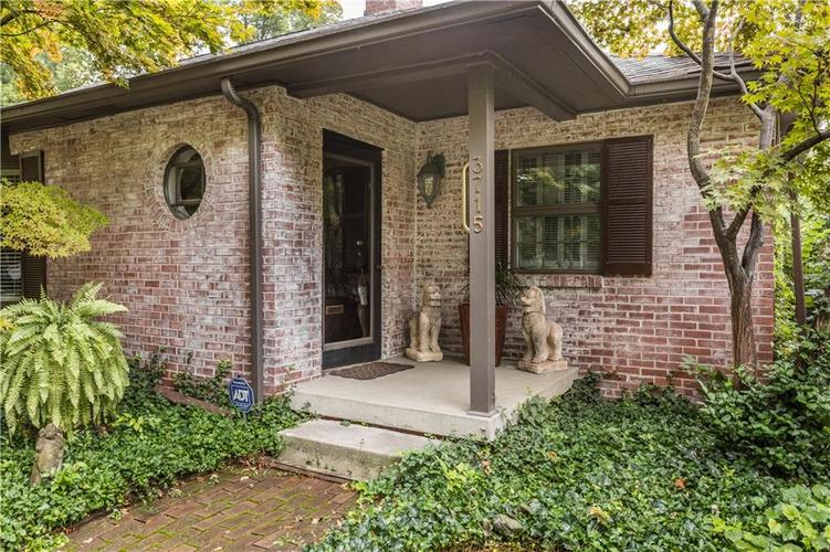 3715 GOVERNORS Road Indianapolis, IN 46208 | MLS 21597763 | photo 3