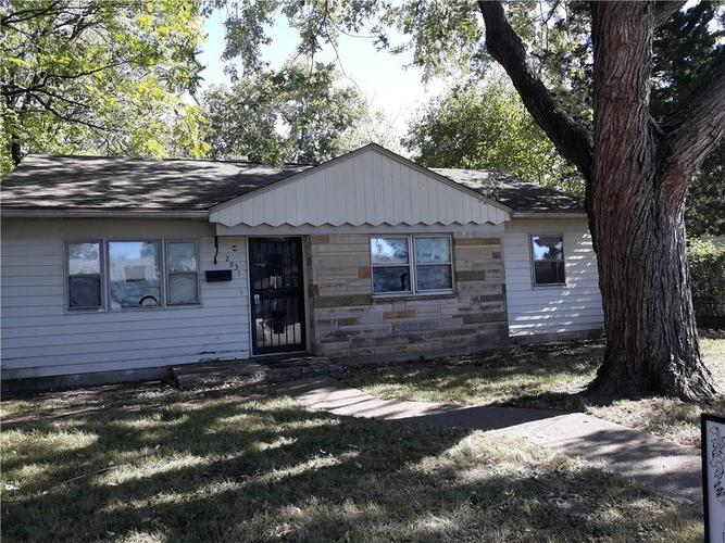 2931 N Sangster Avenue Indianapolis, IN 46218 | MLS 21602934 | photo 1