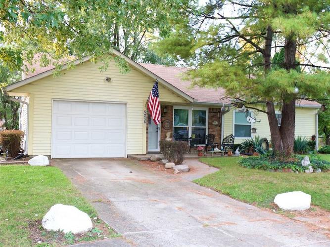 5246  Wagon Wheel Trail Indianapolis, IN 46237 | MLS 21603265