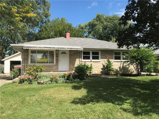 7830 E 49th Street Indianapolis, IN 46226 | MLS 21603425