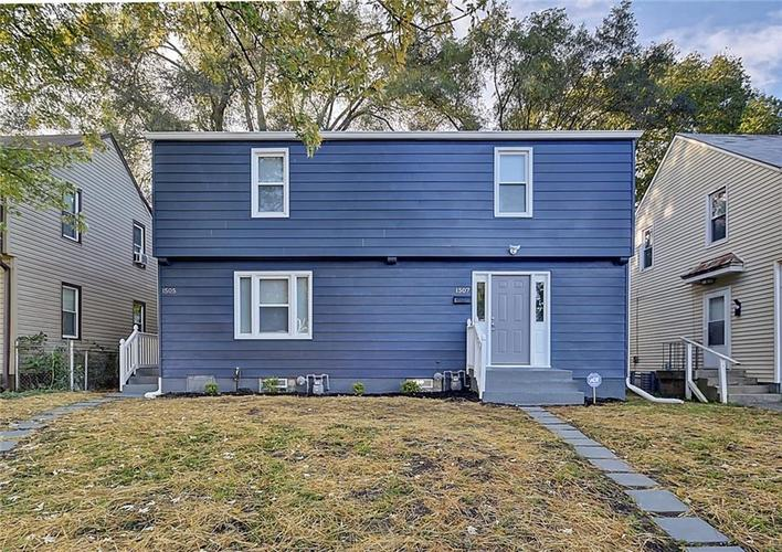 1505/1507 W 28th Street Indianapolis, IN 46208 | MLS 21603500