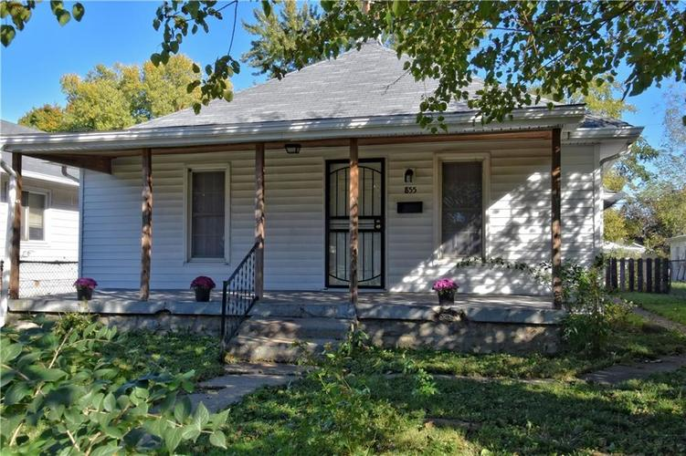 855 S Tremont Street Indianapolis, IN 46221   MLS 21603903