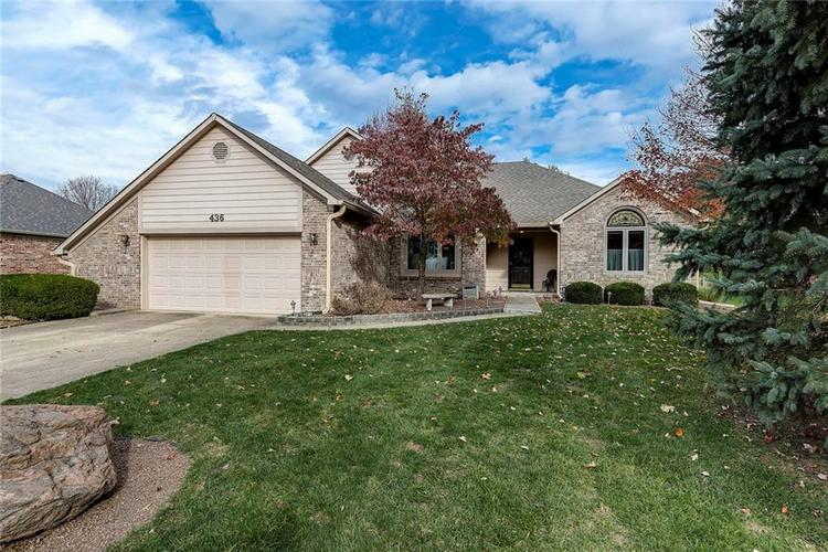 436  Overlook Trail Plainfield, IN 46168 | MLS 21604743