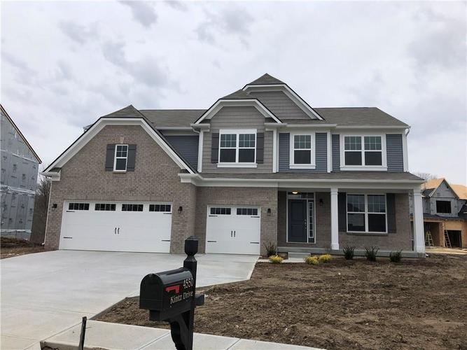 3717  Gilmore Place Bargersville, IN 46040 | MLS 21605602