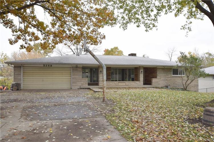 5348 W Hanna Avenue Indianapolis IN 46221 | MLS 21605787 | photo 1