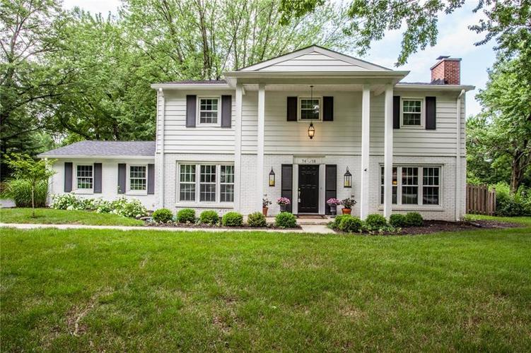7418  DEAN Road Indianapolis, IN 46240 | MLS 21605918