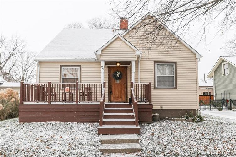 20 S Hougham Street Franklin, IN 46131 | MLS 21609143