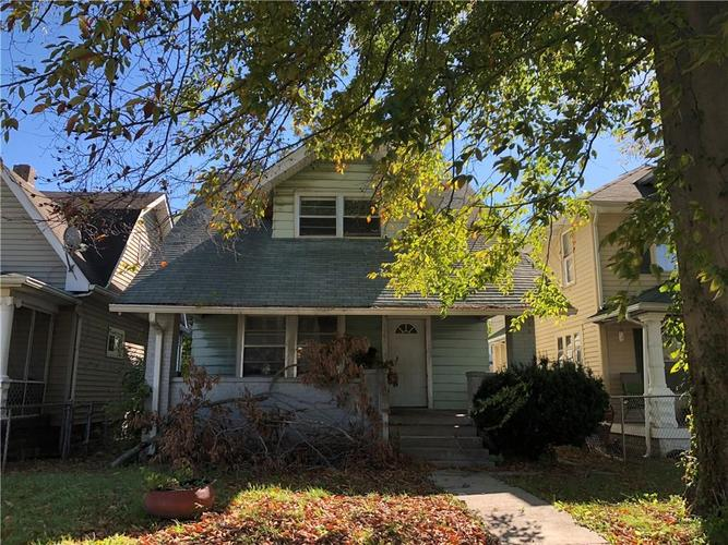 1161 W 35th Street Indianapolis, IN 46208 | MLS 21609443