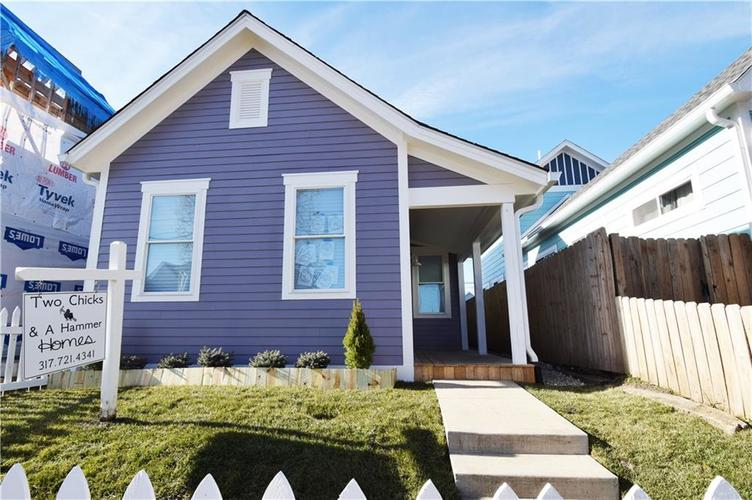 1502 S East Street Indianapolis, IN 46225 | MLS 21610077