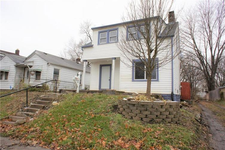 1622 N Temple Avenue Indianapolis, IN 46218 | MLS 21610116 | photo 1