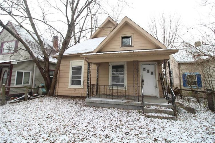 269 N Elder Avenue Indianapolis, IN 46222 | MLS 21610228