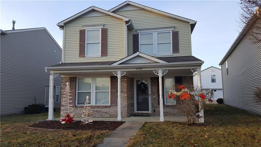 12706  Justice Crossing Fishers, IN 46037 | MLS 21610255