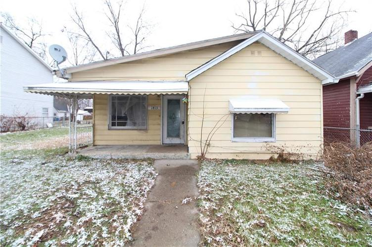 1413  Kappes Street Indianapolis, IN 46221 | MLS 21610257