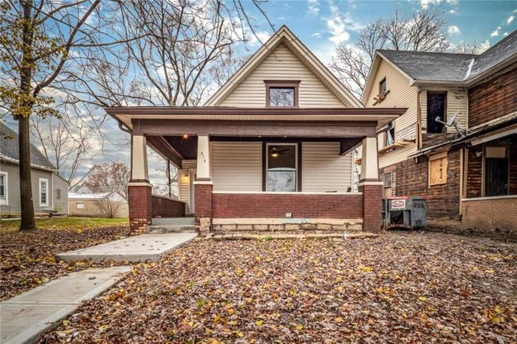 818 N Keystone Avenue Indianapolis, IN 46201 | MLS 21610374