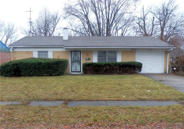 3734 N Ireland Drive Indianapolis, IN 46235 | MLS 21611177
