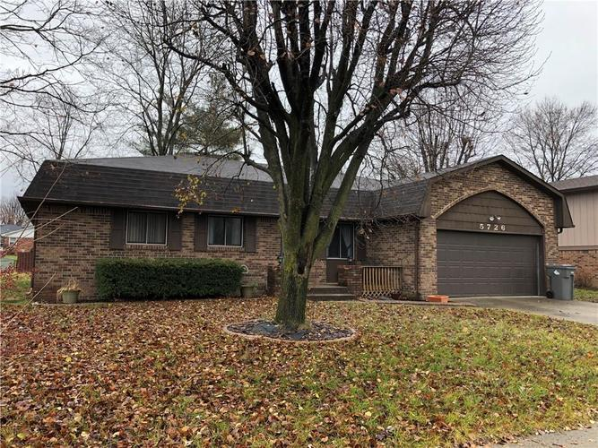 5726  Carry Back Drive Indianapolis, IN 46237 | MLS 21611311