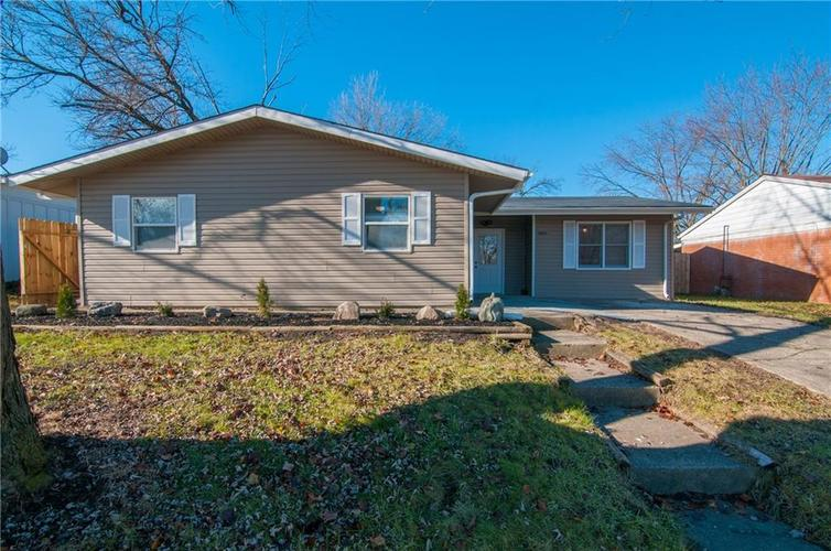 2608 N Sickle Road Indianapolis, IN 46219 | MLS 21611476