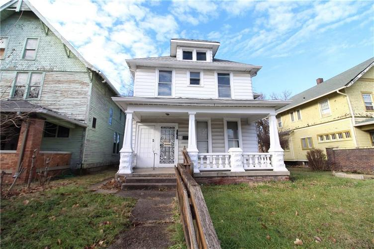 2832 N Capitol Avenue Indianapolis, IN 46208 | MLS 21611570