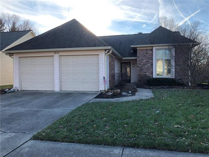 7843  Copperfield Drive Indianapolis, IN 46256 | MLS 21611646