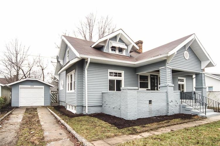 522 N WALLACE Avenue Indianapolis, IN 46201 | MLS 21611897
