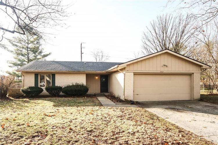 1407 Delbrook Court Indianapolis IN 46260 | MLS 21611925 | photo 1
