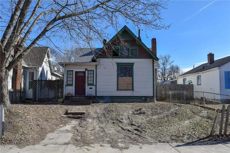 849 N Temple Avenue Indianapolis, IN 46201 | MLS 21612039 | photo 1