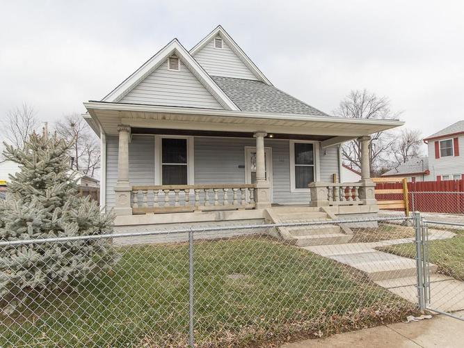 1140 E Perry Street Indianapolis, IN 46227 | MLS 21612383