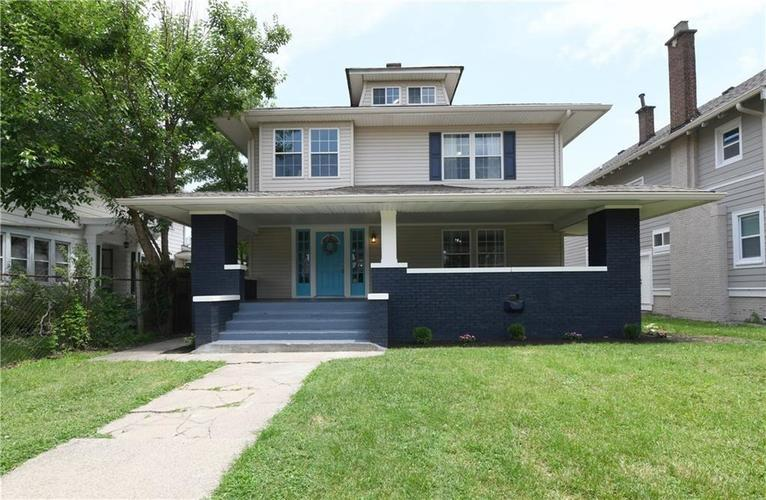 3345  Ruckle Street Indianapolis, IN 46205 | MLS 21612407