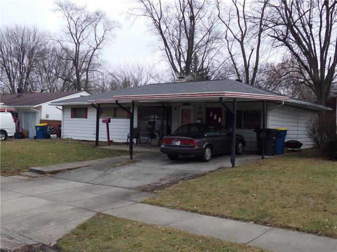 4915 N Kenyon Drive Indianapolis, IN 46226 | MLS 21612576