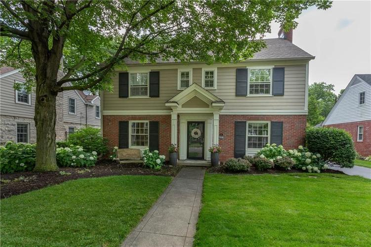 5867 N New Jersey Street Indianapolis, IN 46220 | MLS 21612634