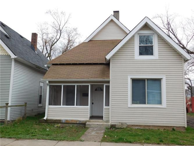 1553 W New York Street Indianapolis, IN 46222 | MLS 21613157