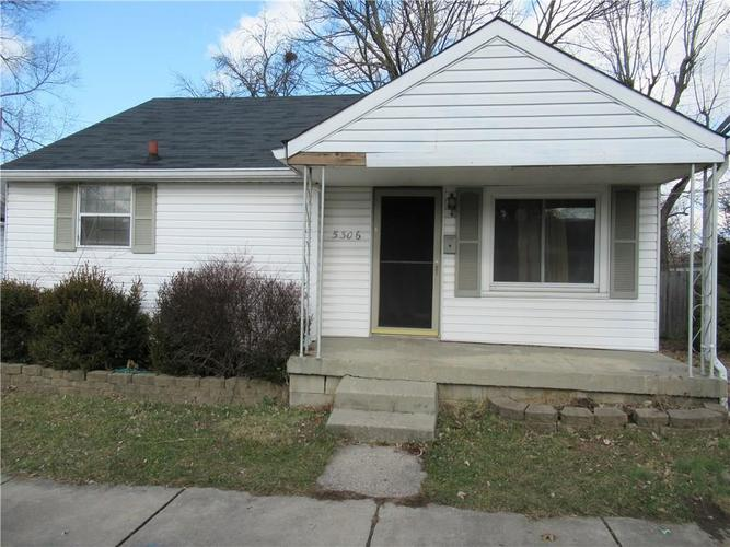 5306 E 20th Street Indianapolis, IN 46218   MLS 21613782