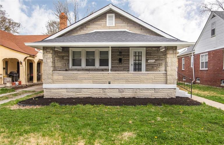 5222 E 10th Street Indianapolis, IN 46219 | MLS 21613893