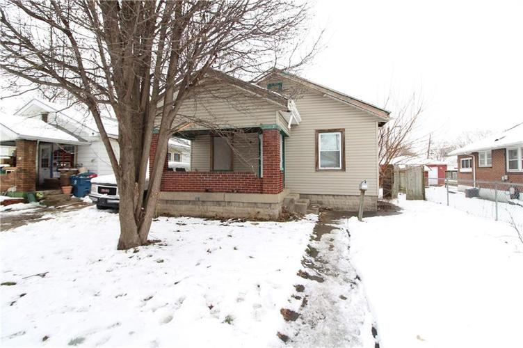 847 S Pershing Avenue Indianapolis, IN 46221   MLS 21615010