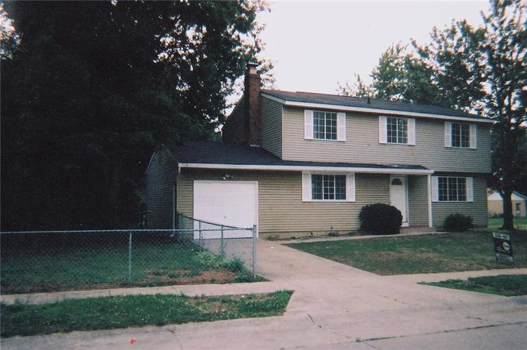 8419 E 34th Place Indianapolis, IN 46226 | MLS 21615699