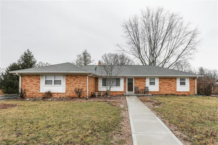 6424  MERIDIAN WOODS Boulevard Indianapolis, IN 46217 | MLS 21617973