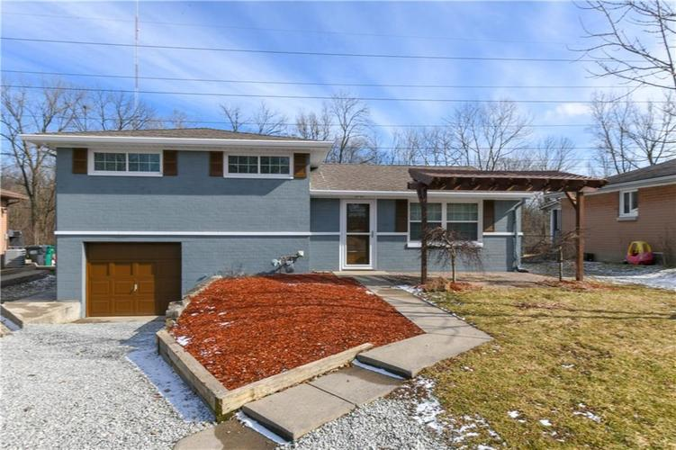 3016 W HILAND Drive Indianapolis, IN 46268 | MLS 21618259