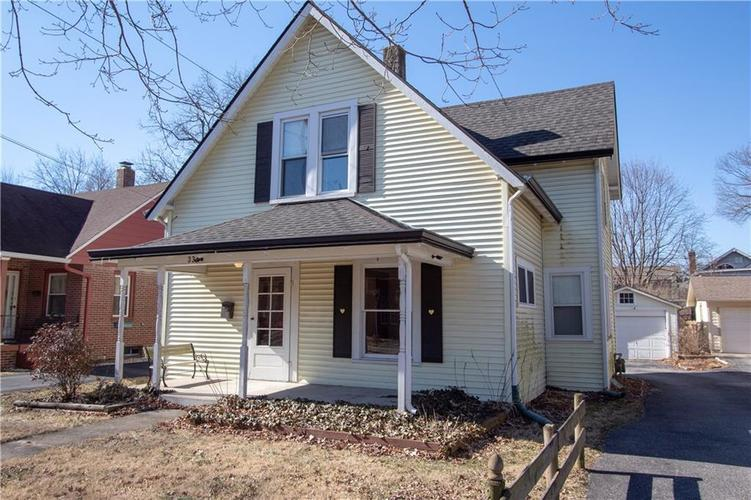 334 N WHITTIER Place Indianapolis, IN 46219 | MLS 21618271