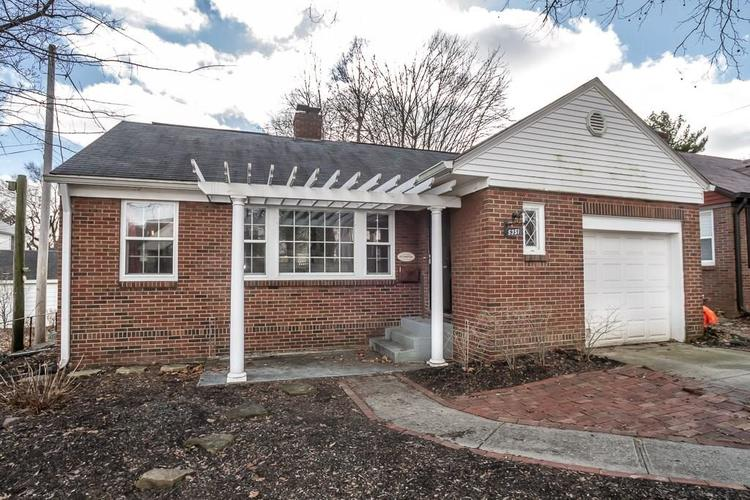 5351 E 9th Street Indianapolis, IN 46219 | MLS 21618281