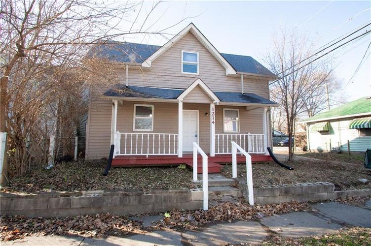 1214 S SHEFFIELD Avenue Indianapolis, IN 46221 | MLS 21618514