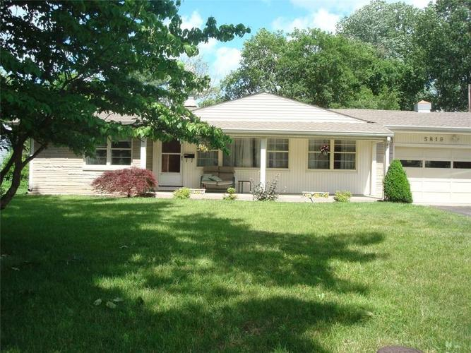 5819 N Oakland Avenue Indianapolis, IN 46220 | MLS 21618676 | photo 1