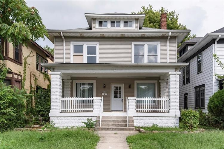 2849 N CAPITOL Avenue Indianapolis, IN 46208 | MLS 21618826