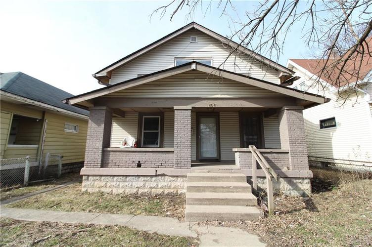 806 N Oakland Avenue Indianapolis, IN 46201 | MLS 21619405