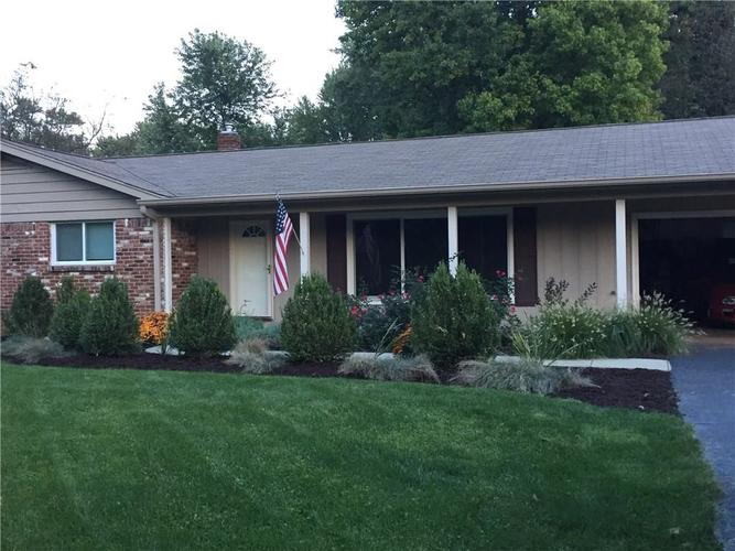 9831  Chesterton Drive Indianapolis, IN 46280   MLS 21619963