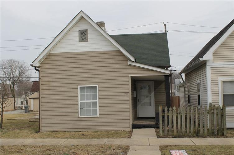211 N Richland Street Indianapolis, IN 46222 | MLS 21622285