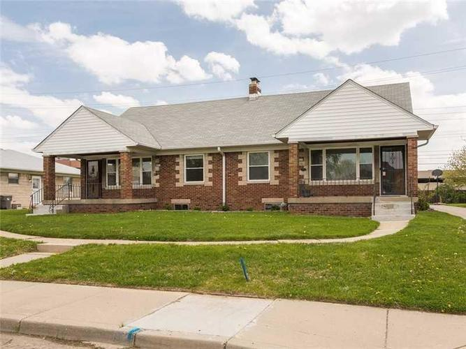1407 N DOWNEY Avenue Indianapolis, IN 46219 | MLS 21623574 | photo 1