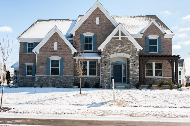 12187 Whispering Breeze Drive Fishers, IN 46037   MLS 21624103   photo 1