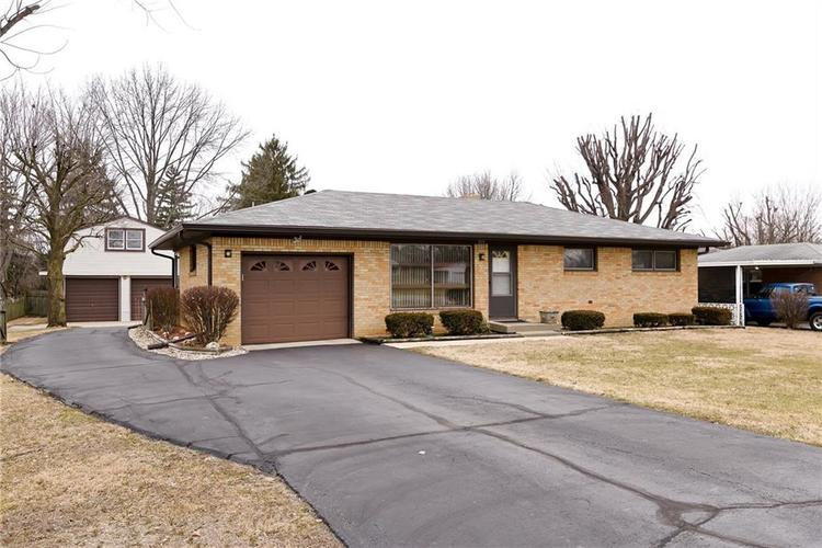 2410 E Thompson Road Indianapolis, IN 46227 | MLS 21624201