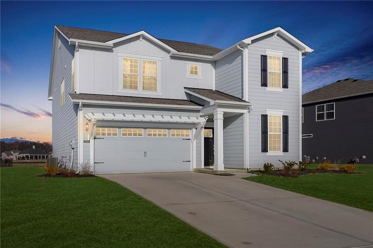 15388 Eastpark Circle W Fishers, IN 46037   MLS 21624299   photo 2