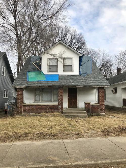1217 N Mount Street Indianapolis, IN 46222 | MLS 21624340